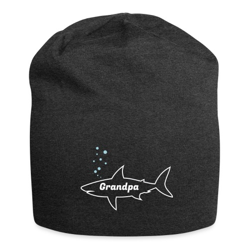 Grandpa shark - Fathers day gift - matching outfit - Jersey-Beanie