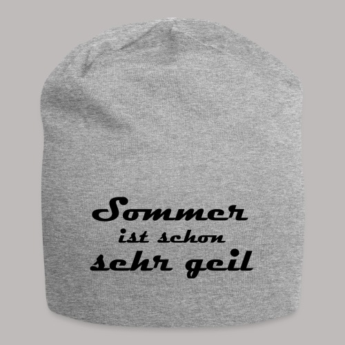 summer is very cool - Jersey Beanie