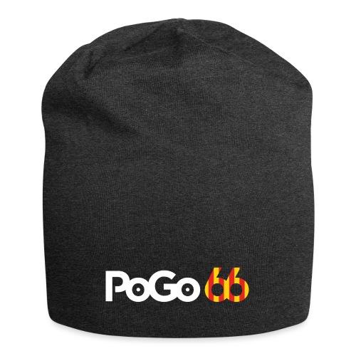 PoGo66 (texte seul) - Bonnet en jersey