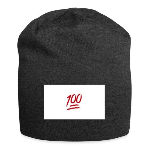 100_emoji - Jersey-Beanie