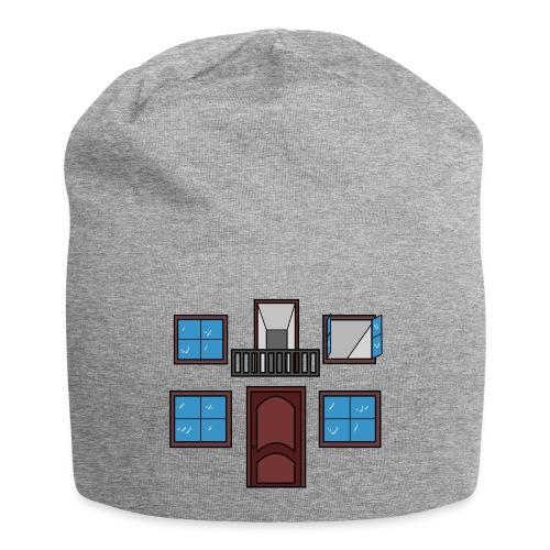 Window of the heart - Gorro holgado de tela de jersey