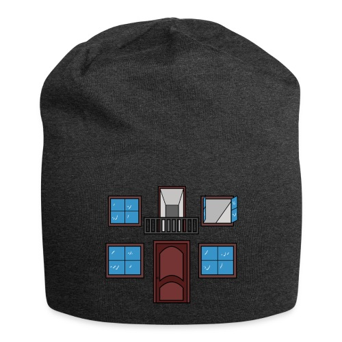 Window of the heart - Gorro holgado de tela de jersey