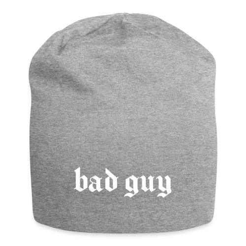 bad guy - Gorro holgado de tela de jersey