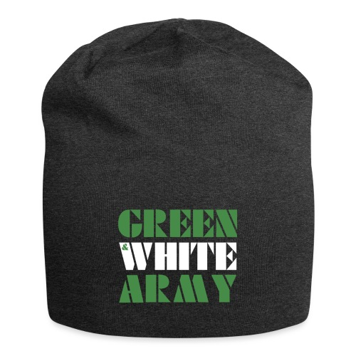 GREEN & WHITE ARMY - Jersey Beanie