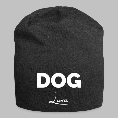 DOG LOVE - Geschenkidee für Hundebesitzer - Jersey-Beanie