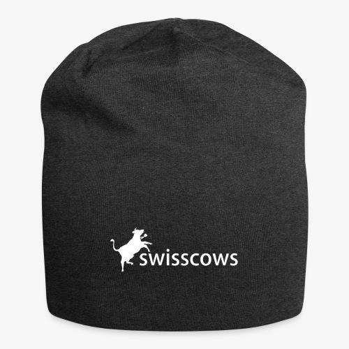 Swisscows - Logo - Jersey-Beanie