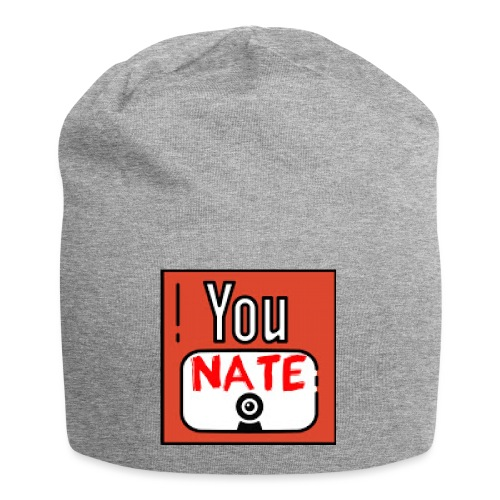 Nate's Youtube Logo - Jersey-Beanie