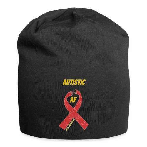 Autistic as F*** - Jersey-Beanie