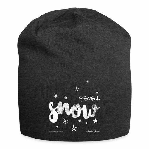 I smell snow png - Jersey-Beanie