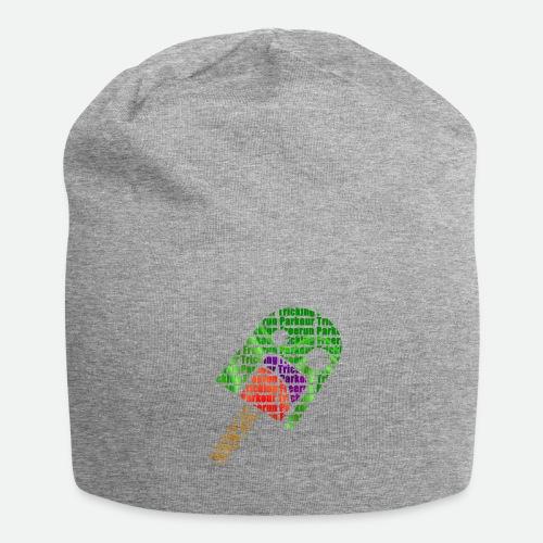 Polo Letras Camisa png - Gorro holgado de tela de jersey