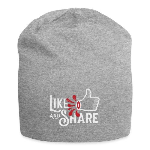 Like and share (white) - Jerseymössa