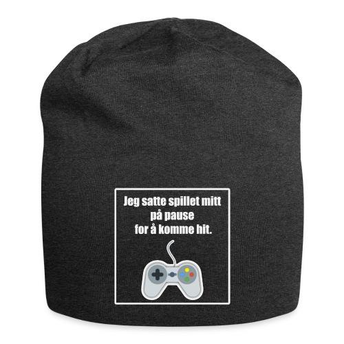morsom t-skjorte til gamer - Jersey-beanie
