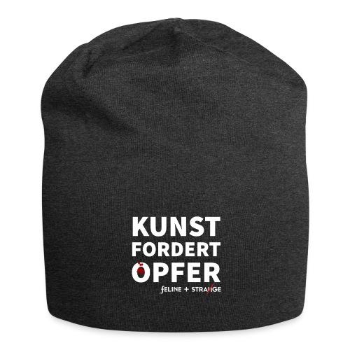 KUNST FORDERT OPFER - Jersey-Beanie