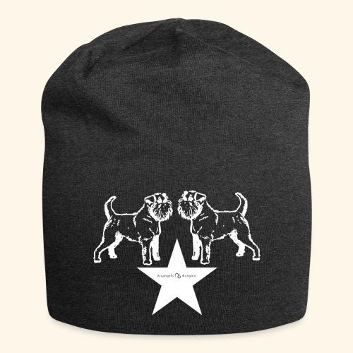 Brussels Griffon star - Bonnet en jersey