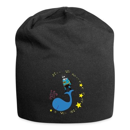 Super baleine - Bonnet en jersey