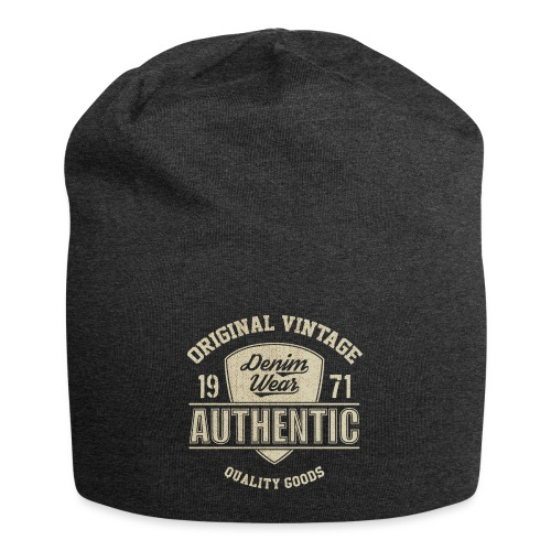 Authentic - Beanie in jersey