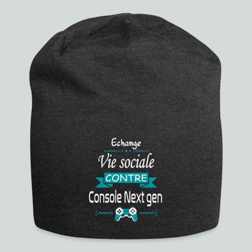 Echange vie sociale contre console Next Gen - Bonnet en jersey