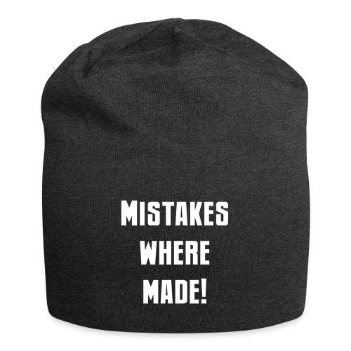 mistakes - Jersey Beanie