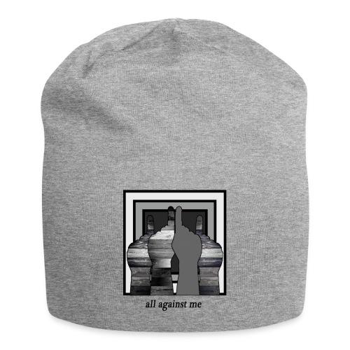 ALL AGAINST ME-2 - Gorro holgado de tela de jersey