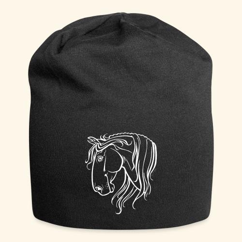 Cheval espagnol (blanc) - Bonnet en jersey