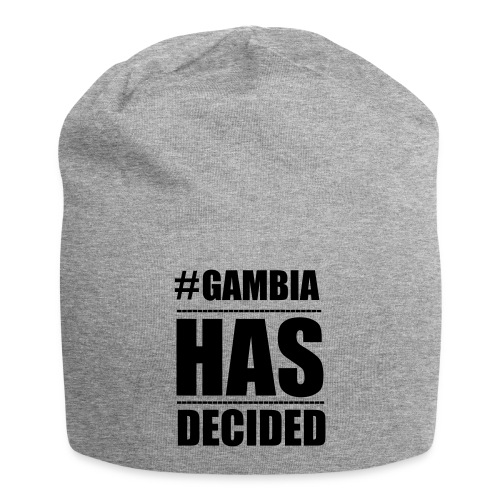 GAMBIA_HAS_DECIDED - Jersey Beanie