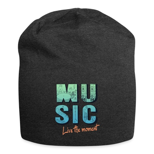 Music_live the moment - Jersey-Beanie