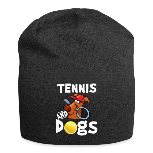 Tennis And Dogs Funny Sports Pets Animals Love - Jersey-Beanie