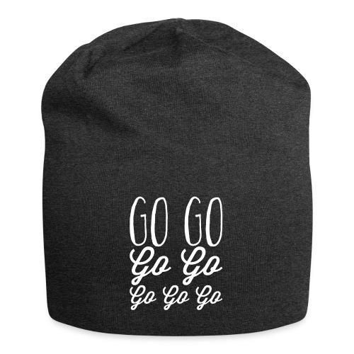 Go Go Go Go Go Go Go - Jersey Beanie