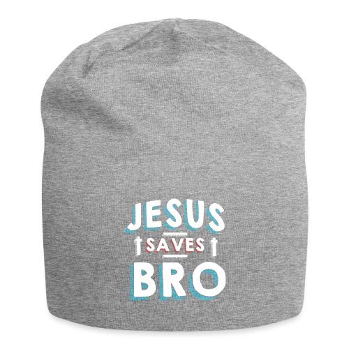 Jesus rettet Bruder Cooles Tshirt für Christen - Jersey-Beanie
