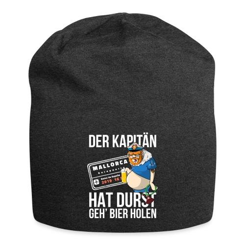 Bier T-shirt Der Kapitän hat Durst - Mallorca 2019 - Jersey-Beanie