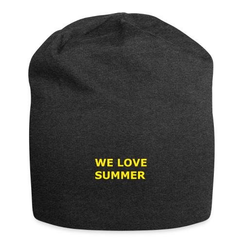 we love summer - Jersey-Beanie