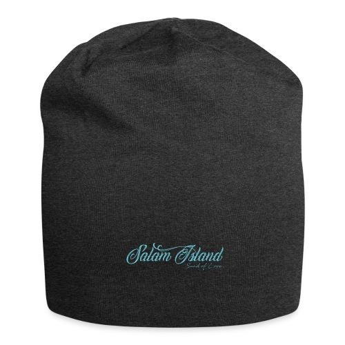 Salam Island calli bleu - Bonnet en jersey
