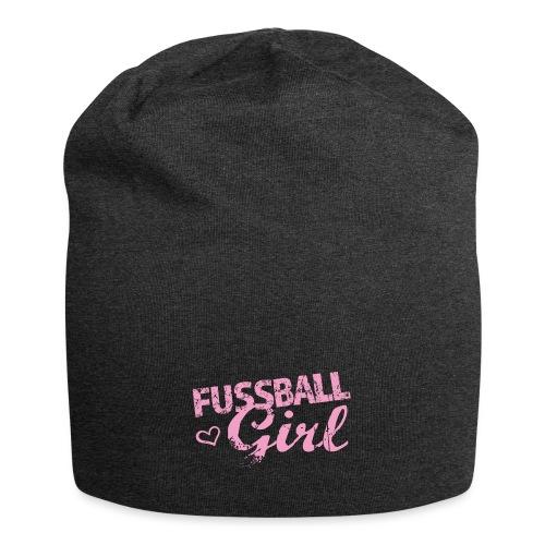 Fußball Girl - Jersey-Beanie