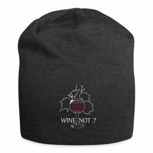 wine - Bonnet en jersey