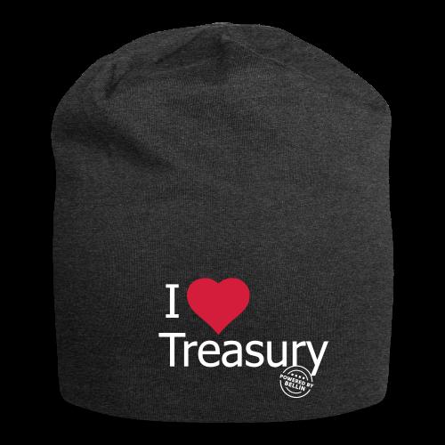 I LOVE TREASURY - Jersey Beanie