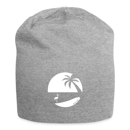 Logo French Floridian blanc - Bonnet en jersey