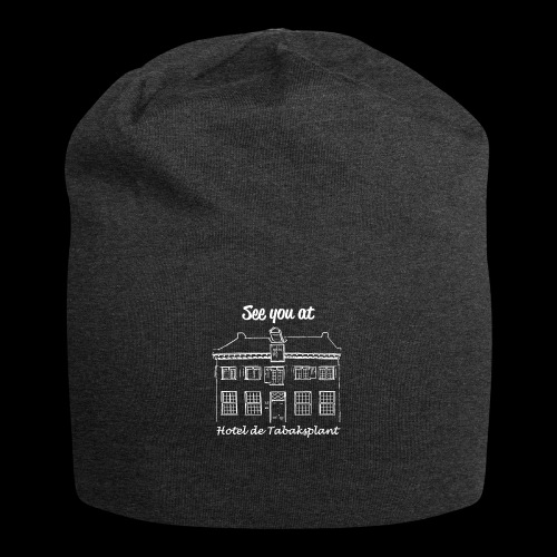 See you at Hotel de Tabaksplant WHITE - Jersey Beanie