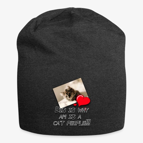 CatPeople - Jersey Beanie