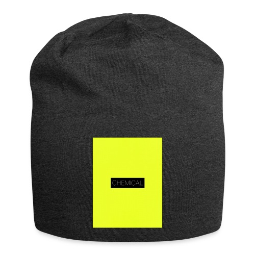 Yellow fluo - Beanie in jersey