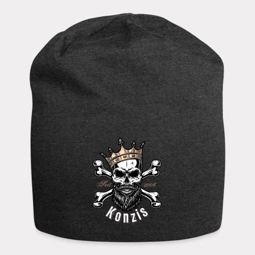 Skull Bones Logo - Jersey-Beanie