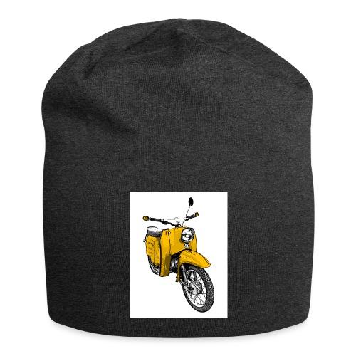 Die Schwalbenfahrer-Tasse (gelb) - Jersey-Beanie