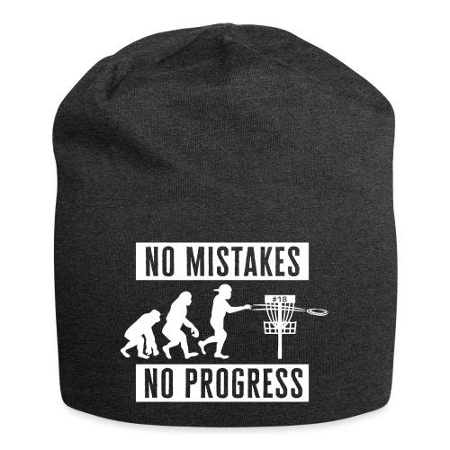 Disc golf - No mistakes, no progress - White - Jersey-pipo