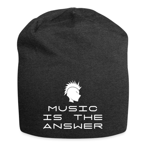 Mohawk Logo - Music is the Answer - Jersey Beanie