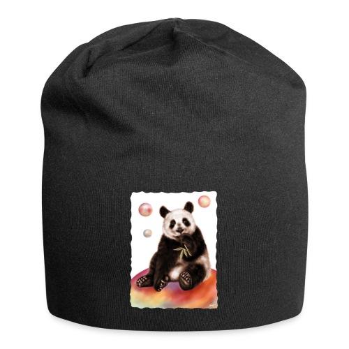 Panda World - Beanie in jersey
