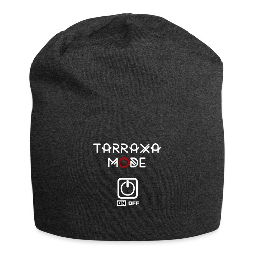 Tar Mode White png - Jersey Beanie