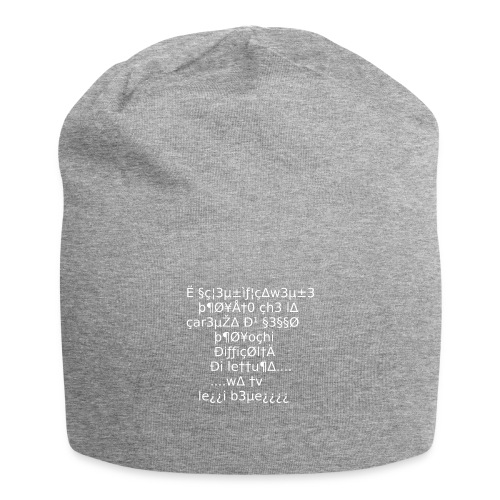 Carenza di sesso - Beanie in jersey