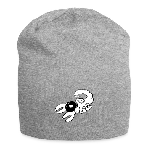 Space Scorpions?! (Black and White) - Jersey Beanie