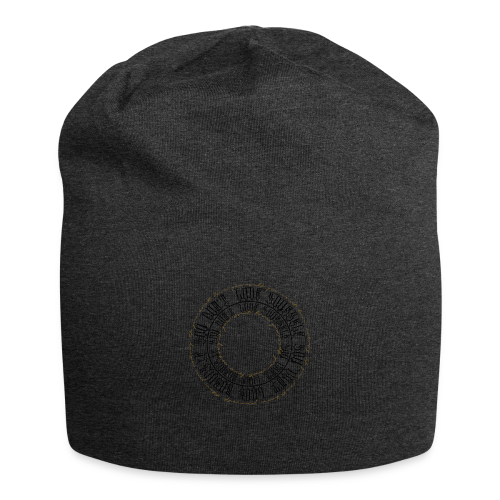 CALLIGRAPHY-CIRCLE - Beanie in jersey