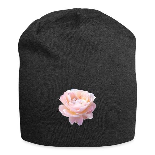 A pink flower - Jersey Beanie