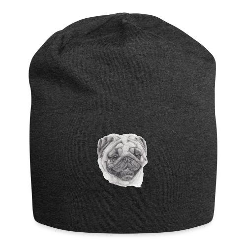 Pug mops 2 - Jersey-Beanie
